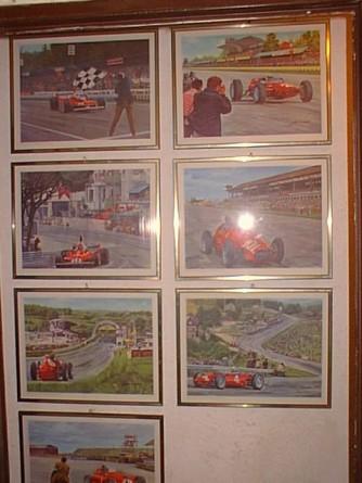 Calendario Ferrari 1980