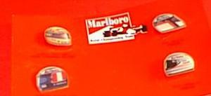 PINS Marlboro Ferrari