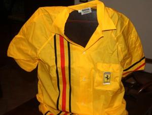 Camicia Ferrari gialla