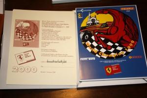 Mattonella numerata del Ferrari Club Modena di Roberto Pelillo