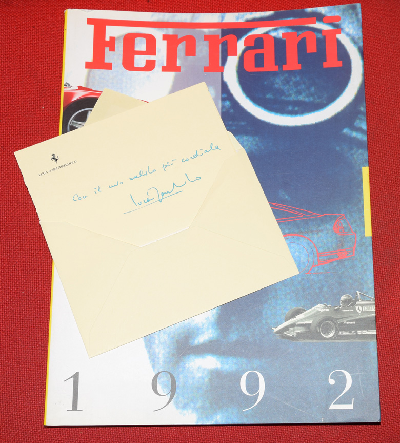 Annuario Ferrari 1992