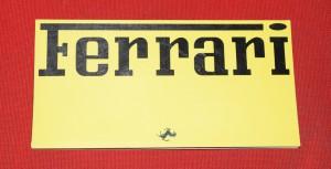 Depliant Ferrari