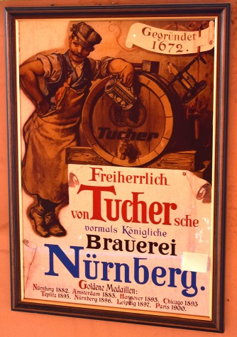Specchio Birra Tucher
