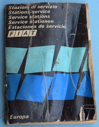 Depliant Fiat Stazioni di servizio Europa