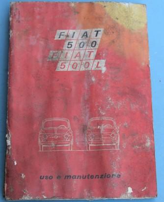 Depliant Fiat 500L Uso e manutenzione