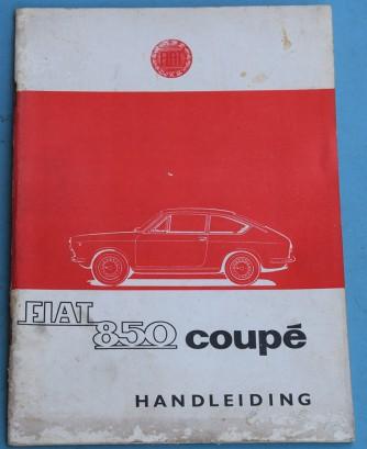 Depliant Fiat 850 Coupé