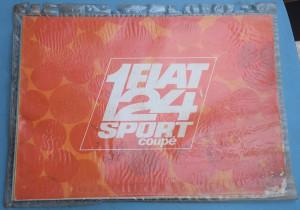 Depliant Fiat 124 Sport Coupé