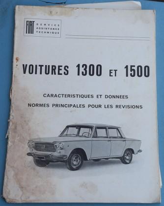 Depliant Fiat 1300-1500 in Francese