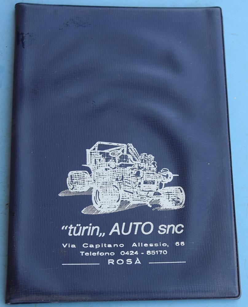 Portadocumenti Turin Auto