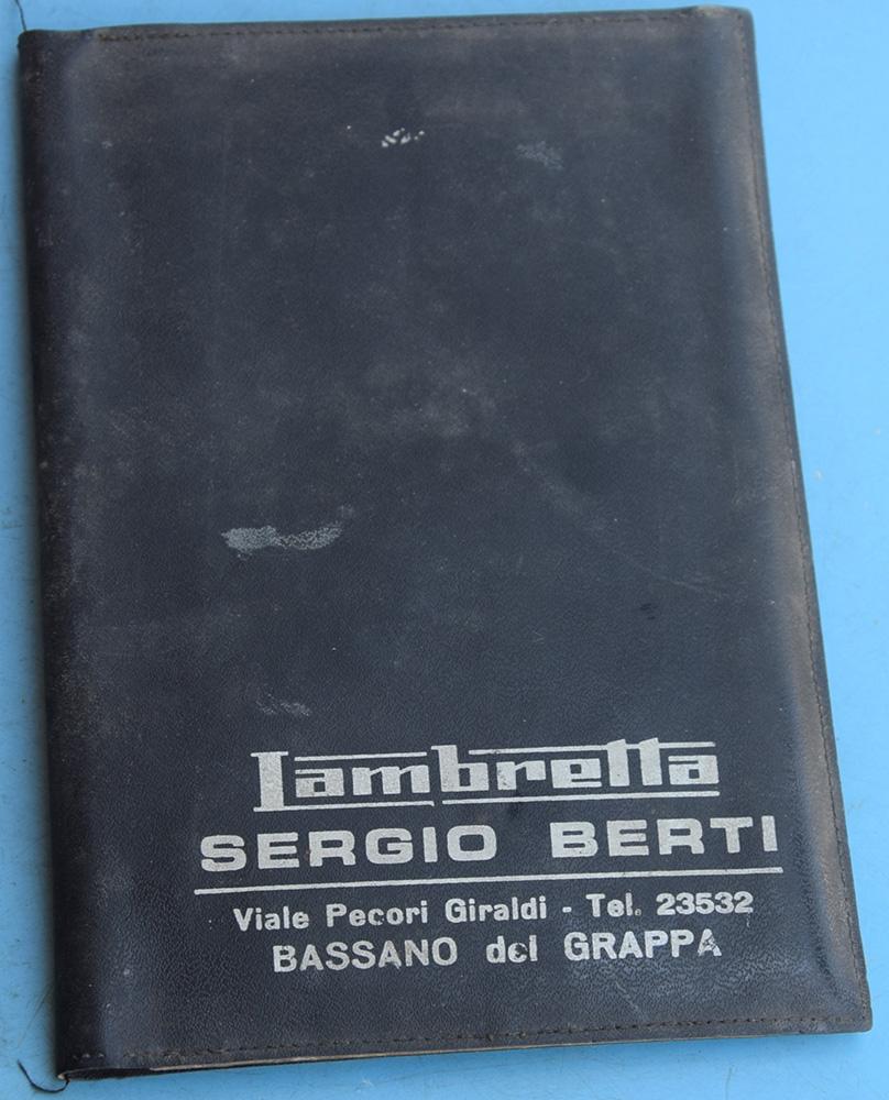 Portadocumenti Lambretta Sergio Berti