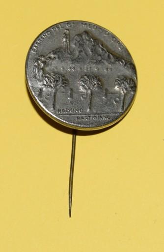 Medaglia d'pro Raduno Partigiano Bassano del Grappa