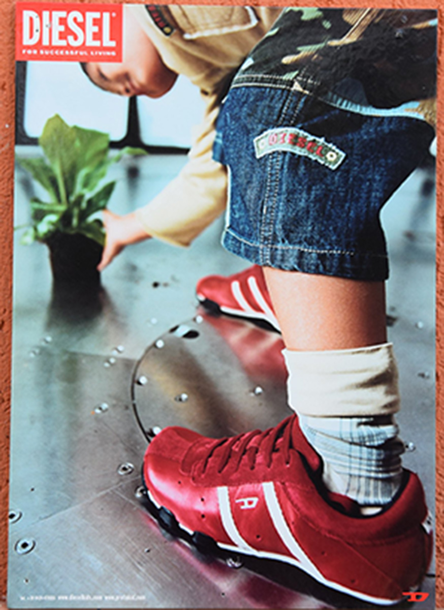 Disiel 3 cartoncini anni 80