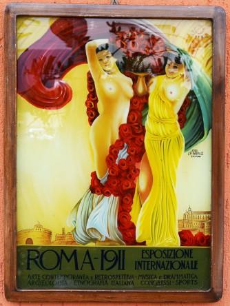 Quadro specchio Roma 1911