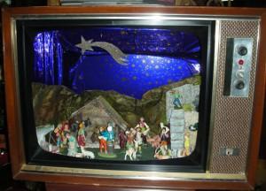 Televisore per Presepio