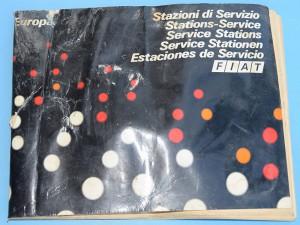 Fiat Libretto Stazioni di Servizio in Europa