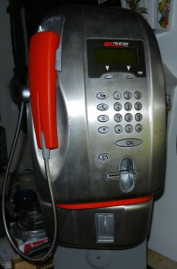 Telefono a gettoni design Giugiaro