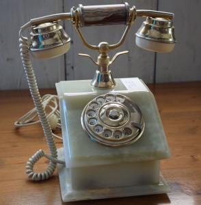 Telefono in onice