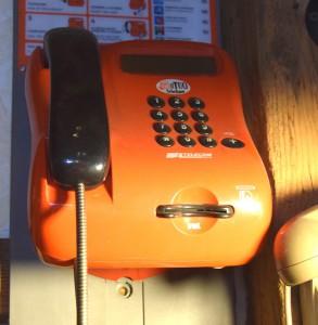 Telefono Telecom a scheda da cabina
