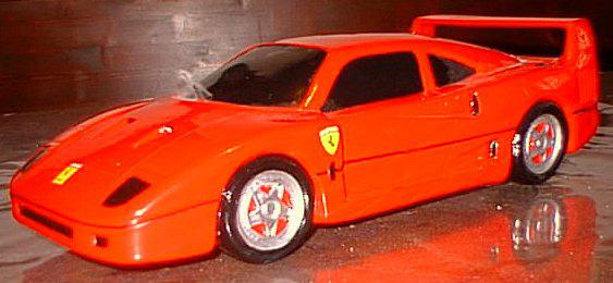 F 40 in ceramica gadget incontro di classe Ferrari 1989