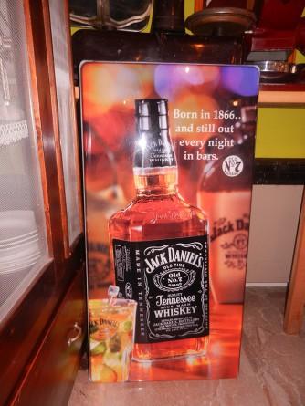 Insegna luminosa Jack Daniel's