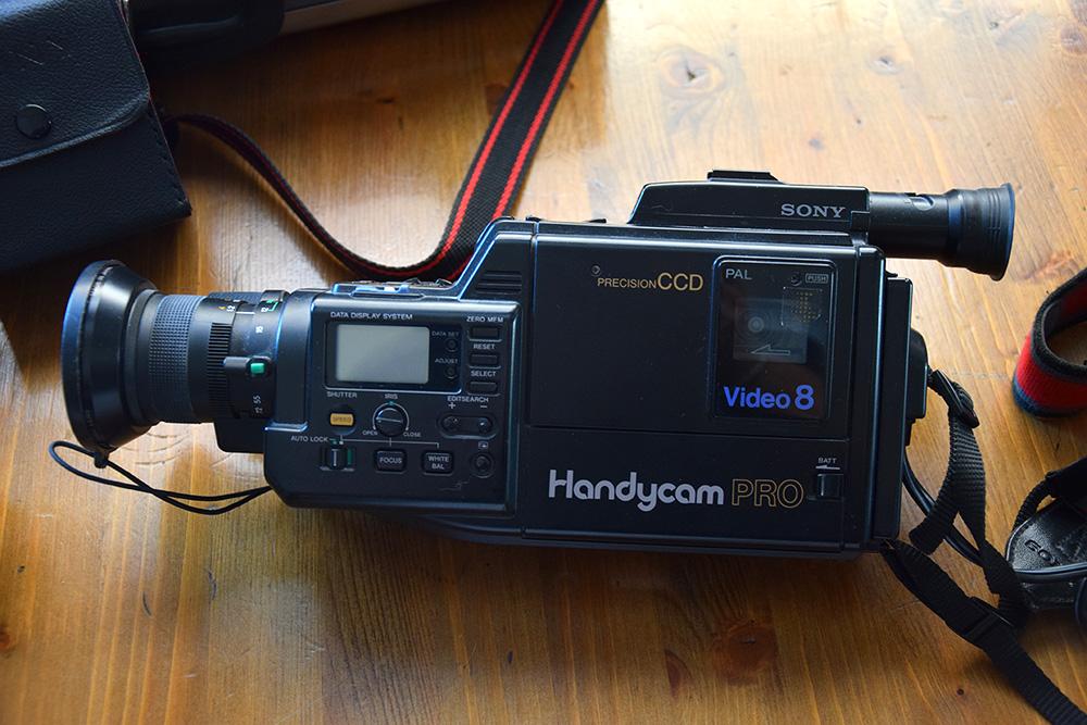 videocamera completa di valigietta